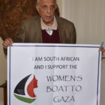 Message of support for Women's Boat to Gaza from Kathrada Foundation