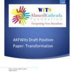 AKFWITS DRAFT POSITION PAPER: TRANSFORMATION