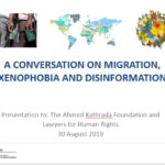 Presentation Gallery: A conversation on Migration, Xenophobia and Disinformation