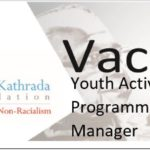 Vacancy: Youth Activism Programme Manager