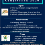 Deadline for the Youth Essay Writing Competition Against Racism has been extended
