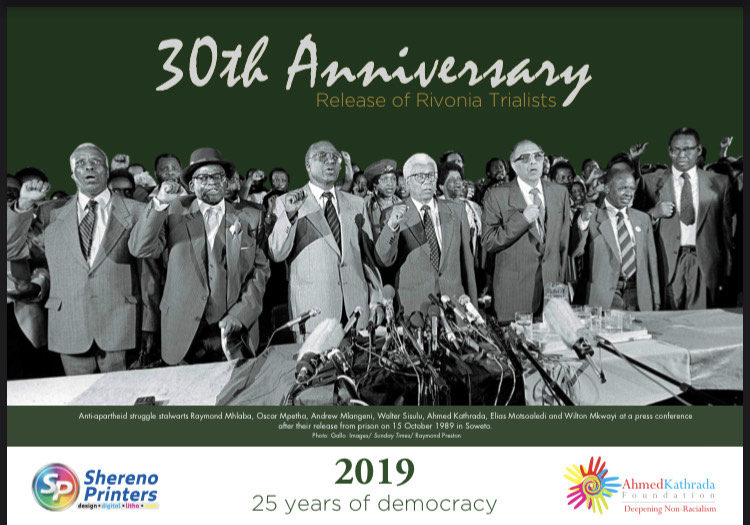 30th Anniversary Release of  Rivonia Trialists