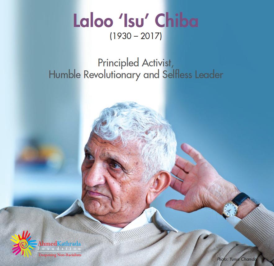 Laloo Isu Chiba Memorial Booklet