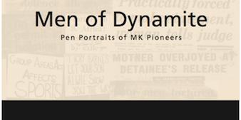 Men of Dynamite Booklet